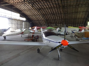 In the St Omer hangar