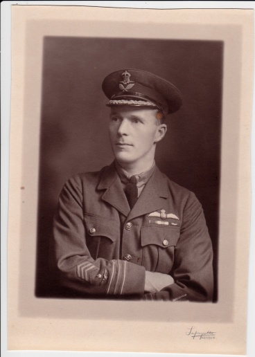 LW Learmount in RAF uniform 2