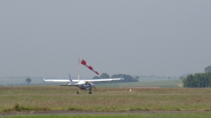 St Omer taxiing for take-off on rwy 09-27