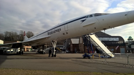 Concorde with Charlie 2