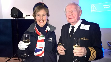 Jeannette Hartley & Capt John Eames