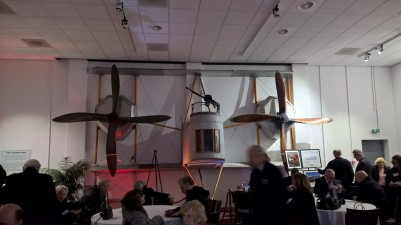 Vickers Vimy room at Brooklands